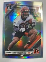 🔥🔥2019 DONRUSS OPTIC TRAYVEON WILLIAMS ROOKIE HOLO PRIZM RC #143 Bengals
