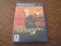 jeu playstation 2 PES 3 pro evolution soccer 3