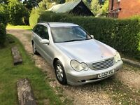 2002 Mercedes C220 CDI Silver Estate, Automatic, Towbar, MOT, Great Workhorse