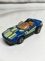 Kenner Fast 111s T.R. Terrific Blue 1981 Made in Hong Kong