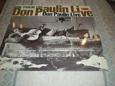 DON PAULIN - LIVE