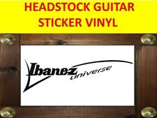 IBANEZ UNIVERSE BLACK SEVEN STRINGS STICKER VINYL VISIT OUR STORE WITH + MODELS