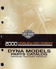 2000 HARLEY-DAVIDSON DYNA PARTS CATALOG MANUAL -FXD FXDX FXDX-CONV  FXDL FXDWG
