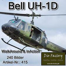 ** Bell UH-1D Bundeswehr ** WalkAround & InAction ** 240 Bilder **FOTO-DVD 415*
