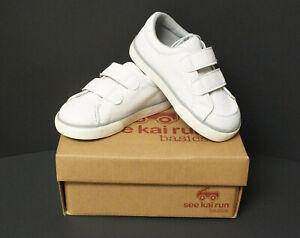 Toddler Girls See Kai Run Basics Morgan Low Top Sneakers Size 7, 8 -White