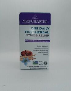 New Chapter Stress Relief One Daily Multi - 30 Vegetarian Softgel
