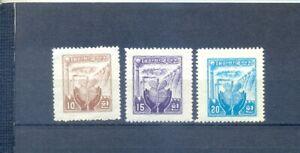 SOUTH KOREA 1955 MICKEL 186/8    MNH. expensive cote