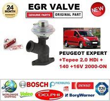 Para PEUGEOT EXPERT Tepee 2.0 HDI +140 + +16 V 2000-ON Neumático Válvula Egr