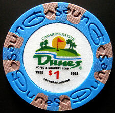 d CASINO DUNES Las Vegas, Nevada USA Commemorative Chip Spielwert $1 (#)