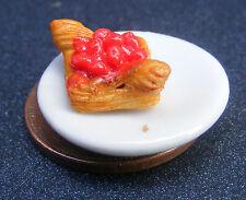 1.12 échelle fruits pâtisserie sur une plaque en céramique Accessoire Maison Poupées Miniature pl33r
