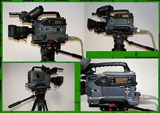 SONY DSR-370 CAMCORDER CCU-D50 CARTONI Stativ Manfrotto 510 CCU Kabel S16x7.3BRM
