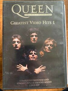 Queen Greatest Video Hits Vol.1 DVD Classic British Rock Music DTS 2-Discs
