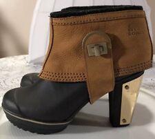 Sorel Medina 11 Heeled Booties Weatherproof Womens Sz 7...7.5...8...10