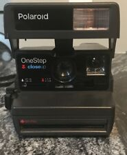 VINTAGE POLAROID One Step Close-Up 600 Instant Camera - UNTESTED