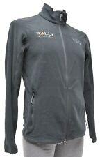 Mountain Hardwear Microchill 2.0 Fleece Zip Jacket Men SMALL Black Rally Cycling