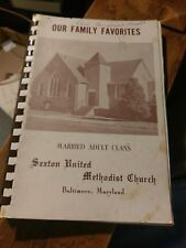 Sexton United Methodist Church Cookbook Baltimore Maryland Cookbook With Ads
