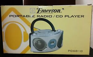 Emerson Radio/CD Player PD6810. New in box.