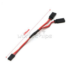 150mm Male to Female Y Style (1 to 2) Servo RC JR Wire Cord Extension Lead Cable
