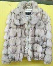 Dark Gray Arctic Fox Fur Coat /Jacket -Michaela Fur*