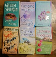 Lot of 6 Catherine Anderson Romance books