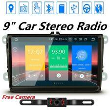 "9"" Car GPS Stereo For VW Jetta Passat Seat Radio GPS Navigation Head Unit+Camera"