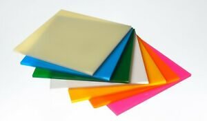 Colour Acrylic Perspex Plastic Sheet A4 Different Colours Fast Delivery