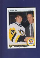 Jaromir Jagr RC 1990-91 Upper Deck Hockey #356 (NM+) Pittsburgh Penguins