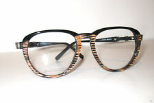 Gianni Versace Real Vintage Round Eyeglasses 480  Montatura Occhiali Italy Mint