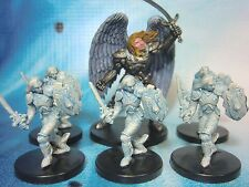 Dungeons & Dragons Miniatures Lot  Justicator Angel Sacred Watcher !!  s101