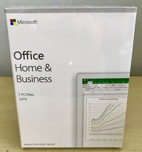 Microsoft Office Home & Business 2019 Retail Pack Full Version Key for 1PC/MAC