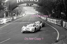 Masten Gregory & Bob Bondurant NART Ferrari 365 P2 Le Mans 1966 Photograph 1