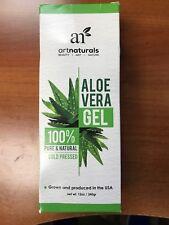 ArtNaturals Organic Aloe Vera Gel - for Face, Hair and Body - 100% Pure Natural