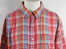 Duck Head Mens Short Sleeve Button Down Shirt Size XL