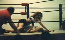 Pinned to the Mat Sexy Girls Women Wrestling Action Vintage 1999 Photo