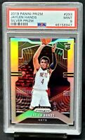 2019 Prizm SILVER REFRACTOR Nets JAYLEN HANDS Rookie Card PSA 9 MINT - Pop 53
