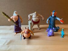 DISNEY HERCULES Collection of Action Figures Set of 6 by Mattel