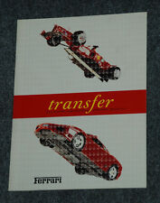 "Ferrari Factory Press Media Brochure ""Transfer""   1687/01  Italian Version"