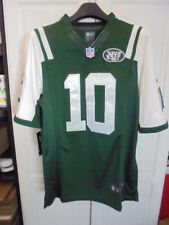 Santonio Holes  #10 New York Jets Replica Jersey Home Green Size Men's Small