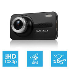 KDLINKS X1 Ultra HD 165° GPS WDR Car Dashboard Camcorder Camera Dash Cam Dashcam