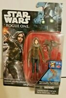 New! Star Wars Rogue One - Sergeant Jyn Erso (JEDHA)Action Figure Free Shipping!