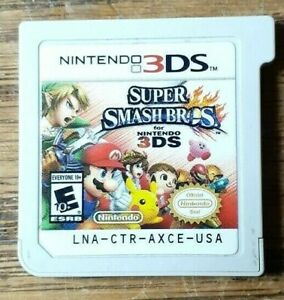 Super Smash Bros. (Nintendo 3DS) VG Shape & Tested Authentic