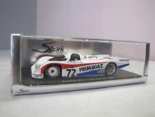 Spark S0951 Porsche 962 C #72 2nd LM 1987 - 1:43