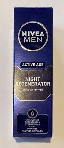 Nivea Men Night Regenerator 50 ml BNIB