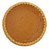 Pumkin Pies...Southern Style 9 Inch Pies.
