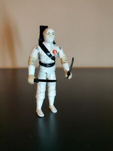 Hasbro GI Joe Storm Shadow 1984 ARAH w backpack, sword and dagger Vintage loose