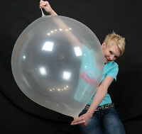 "1 x Cattex 32"" Riesen-Luftballon (transparent) + Link (Clear 32"" balloon +link)"