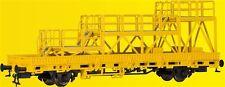 Kibri HO 26262 Vagón plataforma baja de trabajo Construcción vía Nuevo