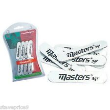 MASTERS GOLF LEAD WEIGHT STRIPS 8 BY 3 GRAM. BRAND NEW