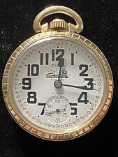 Pocket Watch 17 Jewels Swiss Antique Elgin Incabloc Winton Watch Co