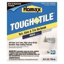 Homax 720773 Tub & Sink Brush-On One-Part Epoxy, 26-Ounce White 26 Oz,